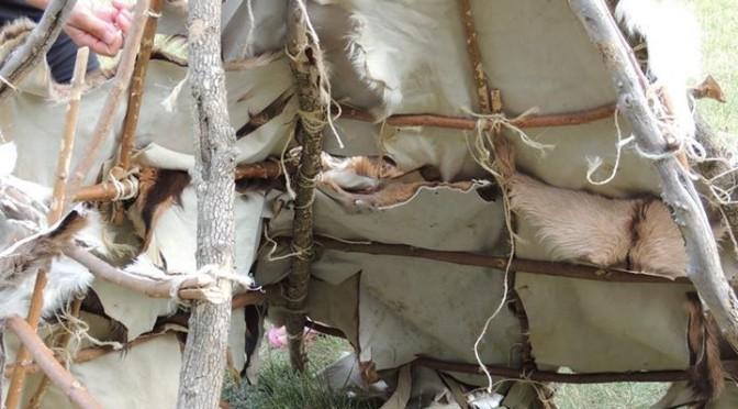 atelier cabane préhistorique