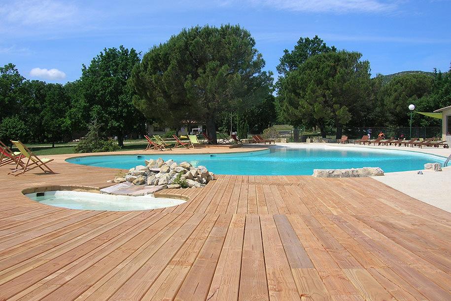 rénovation écologique de la piscine