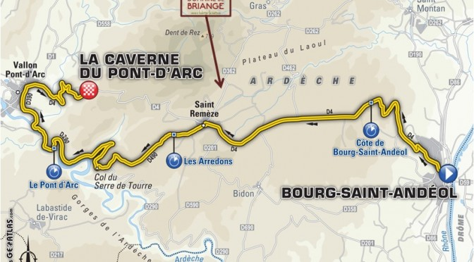 Tour de France - Caverne Pont d'Arc