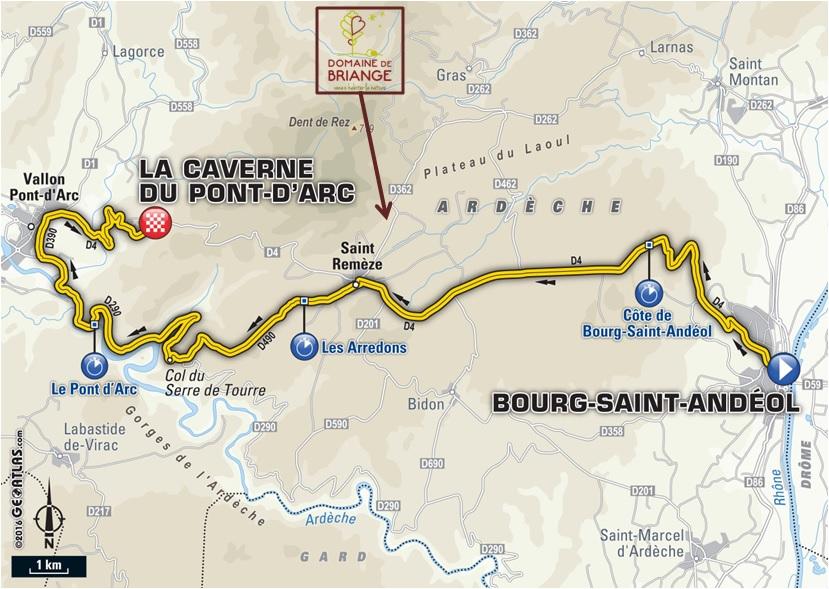 Tour de France - Caverne Pont d'Arc