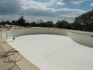 préparation de la piscine Briange
