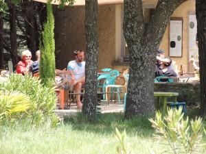 café en terrasse à Briange