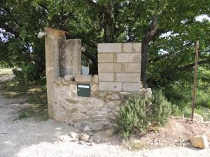 mur entrée Briange