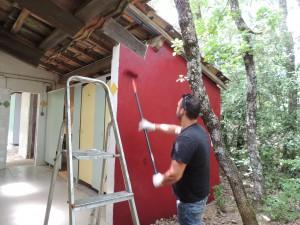 peinture au sanitaire Briange