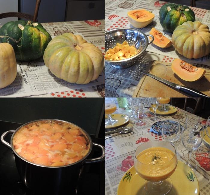 Recette de la soupe de courge ardéchoise