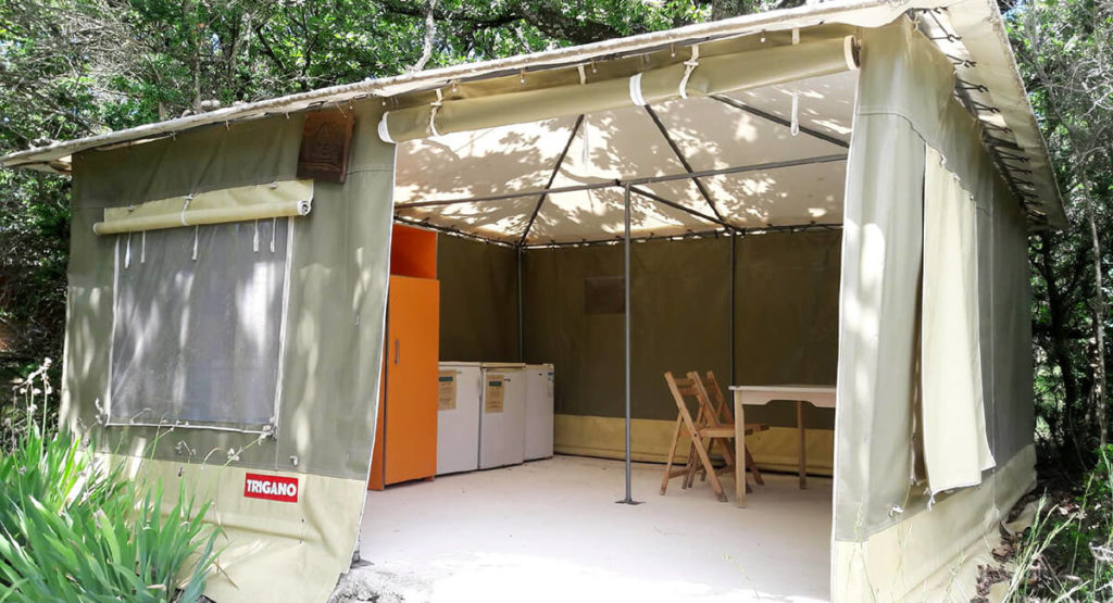 shared spaces for campers